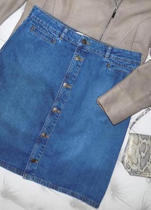 Трендовая джинсовая юбка
