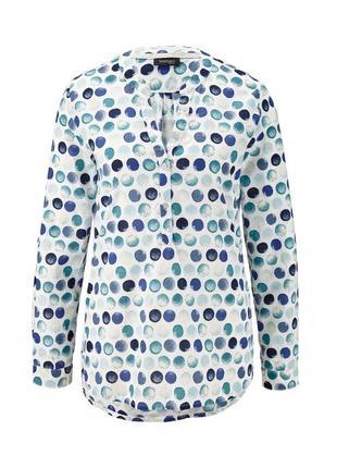 Модная блуза-рубашка 42евро 48наш tcm tchibo4