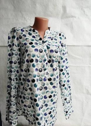 Модная блуза-рубашка 42евро 48наш tcm tchibo7