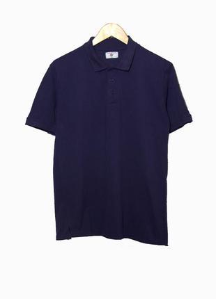Classiktop/мужская темно-синяя футболка-поло