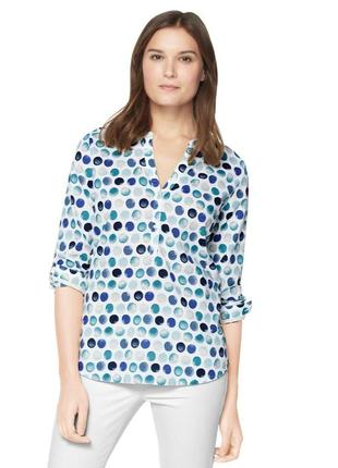 Модная блуза-рубашка 42евро 48наш tcm tchibo3