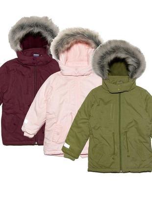 Стильная тёплая куртка длинная на флисе, парка демисезон с капюшоном, евро зима6