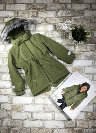 Стильная тёплая куртка длинная на флисе, парка демисезон с капюшоном, евро зима8