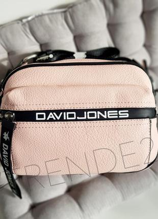 5989-1 pink david jones стильная яркая сумка кроссбоди! f962e96828e3c