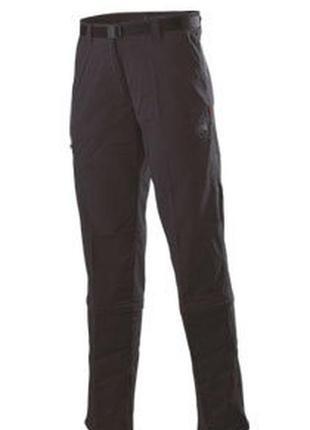 Фирменные легкие спортивные брюки трансформеры mammut zip-off system
