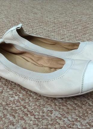 Geox respira балетки кожаные туфли оригинал (38 - 24 см) сост.идеал