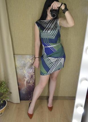 Вечернее шикарное шелковое платье с оголенной спиной by nai lu-na2 фото