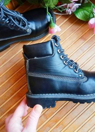 Ботинки демисезонные  эко кожа 30р6 фото