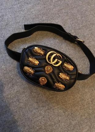 Скидка!! поясная сумка с логотипом.
