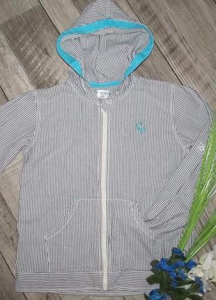 100% коттон летняя  куртка бомбер от cherokee рост 140cм