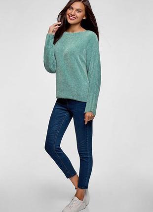Женский бирюзовый свитер