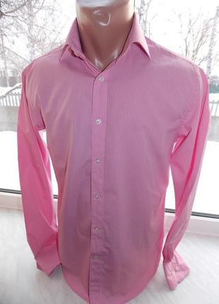 """Р.s """"jack & jones"""" premium,100% коттон,зауженная,рубашка в идеале."""