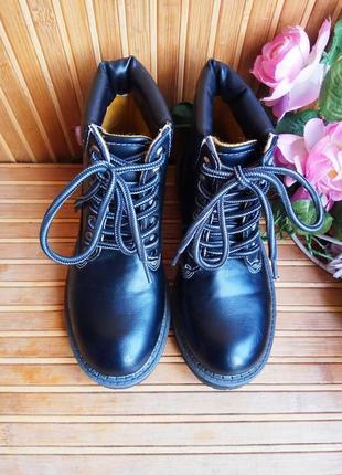 Ботинки демисезонные  эко кожа 30р8 фото