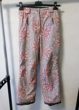 Лыжные штаны на девочку 152 см