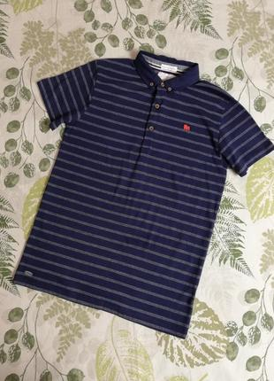Фирменная футболка в полоску jasper conran