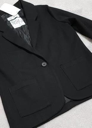 Школьный  пиджак на девочку 140см от h&m