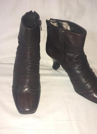 Ботинки *janet d.* кожа германия р.41 ( 27.00 см)