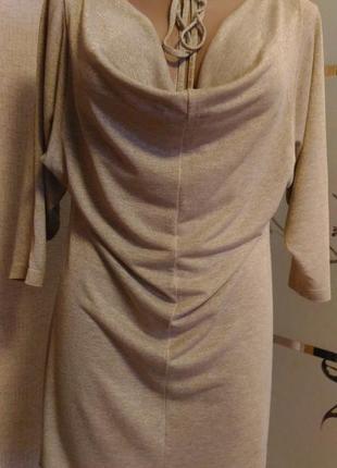 Стильная золотистая туника платье 👗 ) dorothy perkins