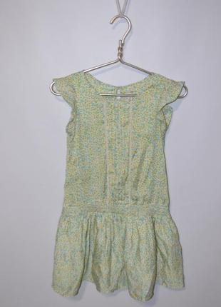 Платье с заниженной талией 5-6 лет