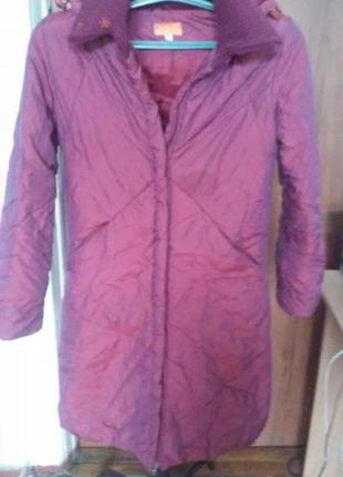 Демисезонное пальто для девочки