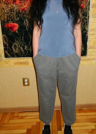 Штаны брюки джинсы женские серые размер 48-50 white stag.