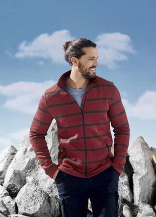 Отличная флисовая кофта - куртка, германия ( размер 56-58)
