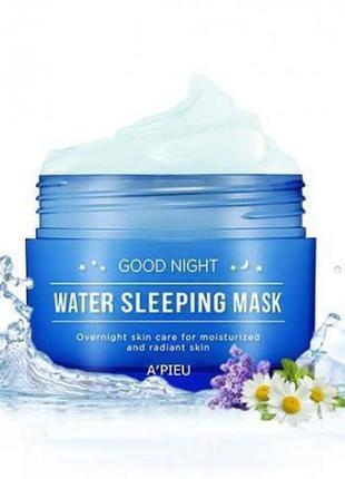 Увлажняющая ночная маска a'pieu good night water sleeping mask / 105ml
