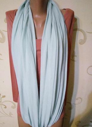 C&a . большой мягкий трикотажный шарф снуд хомут . новый с бирочками