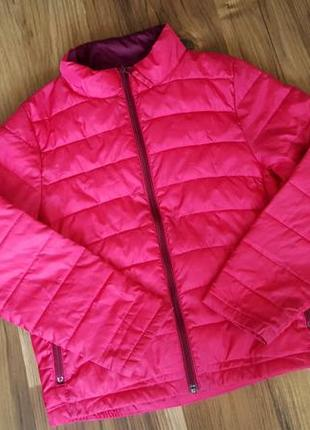 Куртка для девочек, демисезонная на 7-8 лет