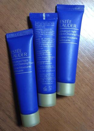 Очищающий мусс estee lauder advanced night micro cleansing