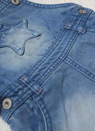 Big sale! джинсовый сарафан комбинезон юбка hema на 3 мес большемерит3 фото
