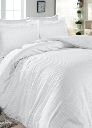 Комплект постельного белья постельное белье набор постельного сатин белая белый