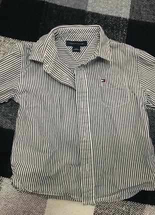 Крутая рубашка tommy hilfiger