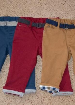 Штаны брюки h&m детские р.80,86