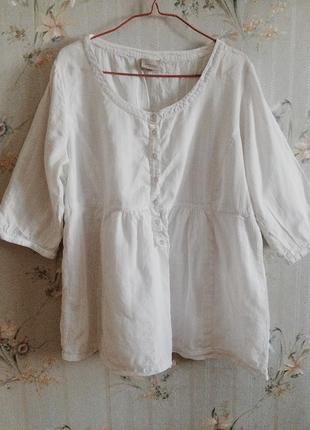 Вышиванка средневековье разлетайка рубашка сорочка кофточка белая свободного кроя оверсайз