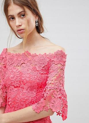 Paper dolls романтична рожева ажурна сукня