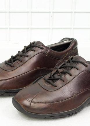 Туфли мужские кожаные timberland размер 40.5 стелька 25.5 см (плотно на 26 см)