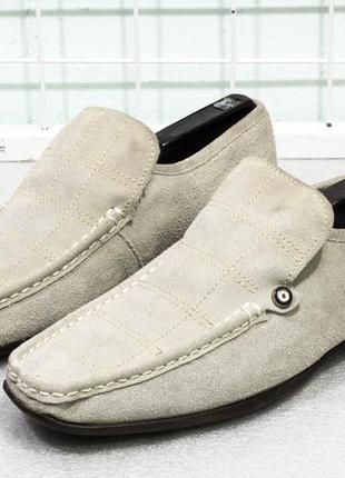 Туфли мужские замшевые ben sheman  размер  42 стелька 27.5 см