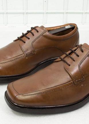 Туфли мужские кожаные clarks размер 42,5 стелька 28см
