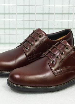 Туфли мужские кожаные осень marks&spencer рамер 45-46 стелька 30.5 см