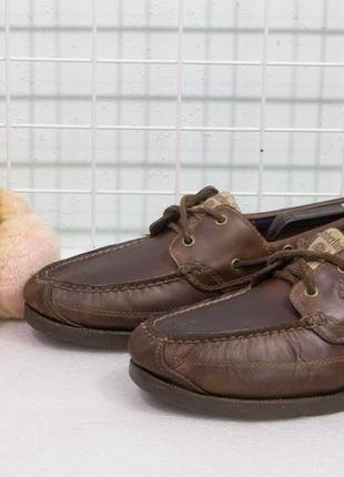 Туфли мужские кожаные timberland размер 42.5 стелька 27.5