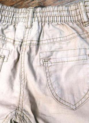 Стильные льяные брюки2