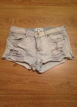 Стильные модные шорты джынс / mango / xs