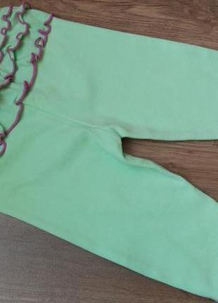 Гламурные лосины легенсы с рюшами topomini на 6 мес рост 68 см