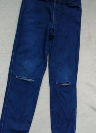 Трендовые порваные джинсы zara на 5 лет рост 110 см