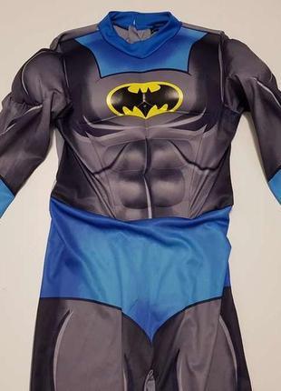 Детский карнавальный костюм batman, george, на 7-8 лет, сост. отличное!1