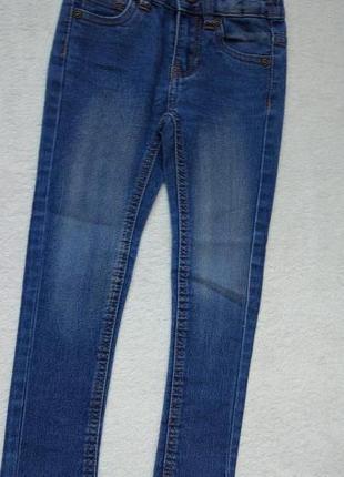 Big sale! стильные джинсы узкачи kiki&koko на 4 года рост 104 см