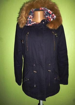 Стильная куртка-парка dorothy perkins