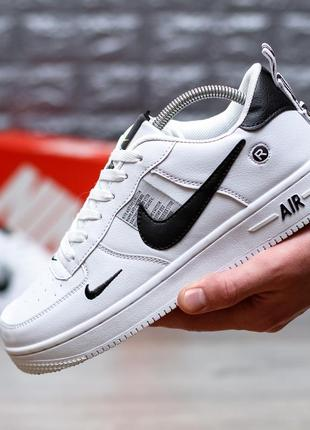 Мужские кроссовки nike air force 1 low just do it white р.41-46