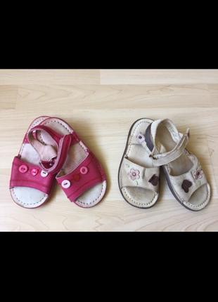 Кожаные сандалии 26-27